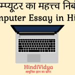 Importance of Computer Essay