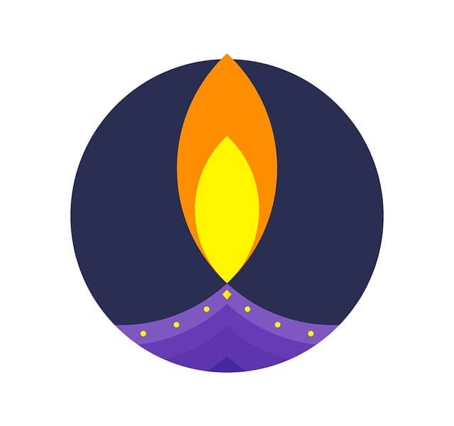 Diwali, Lamp, Icon