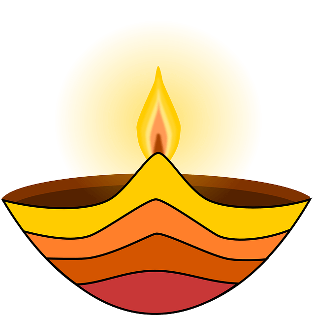 Diwali, Lamp, Flame