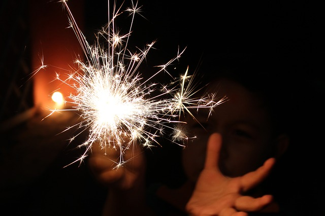 Sparkler, Festival, Light